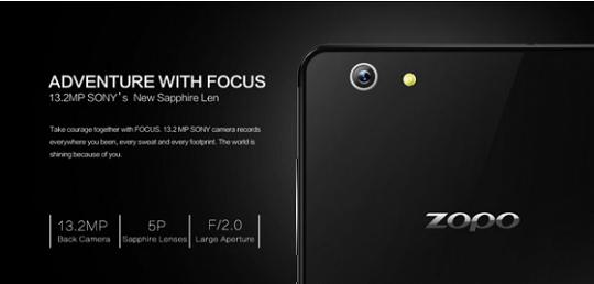 Zopo Focus ZP720 в Украине НОВИНКА