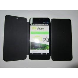 Flip Case. Флип чехол для THL W200 Black Черный