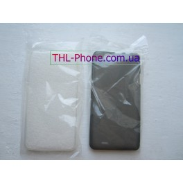 Защитный бампер чехол для THL 4400, THL 5000 Black White Черный Белый