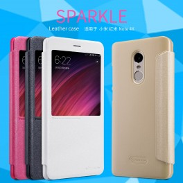 Защитный Флип чехол Flip Case Nillkin для Xiaomi Redmi Note 4X