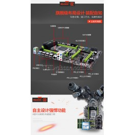 Материнская плата Huanan X79 2.49 Motherboard  LGA2011 Lga 2011