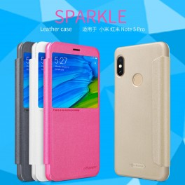 Защитный Флип чехол Flip Case Nillkin для Xiaomi Redmi Note 5 Pro