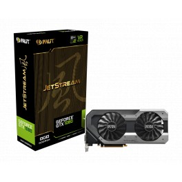 Видеокарта Palit GeForce GTX 1080 Super JetStream (NEB1080S15P2-1040J)
